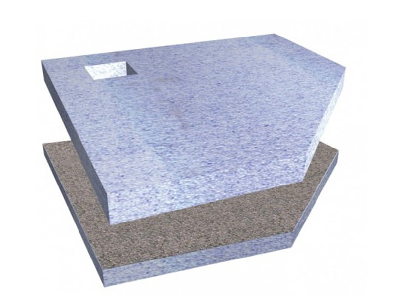 Simpsons pentagon wetroom tray with corner waste 900mm - Corner wastebasket ...