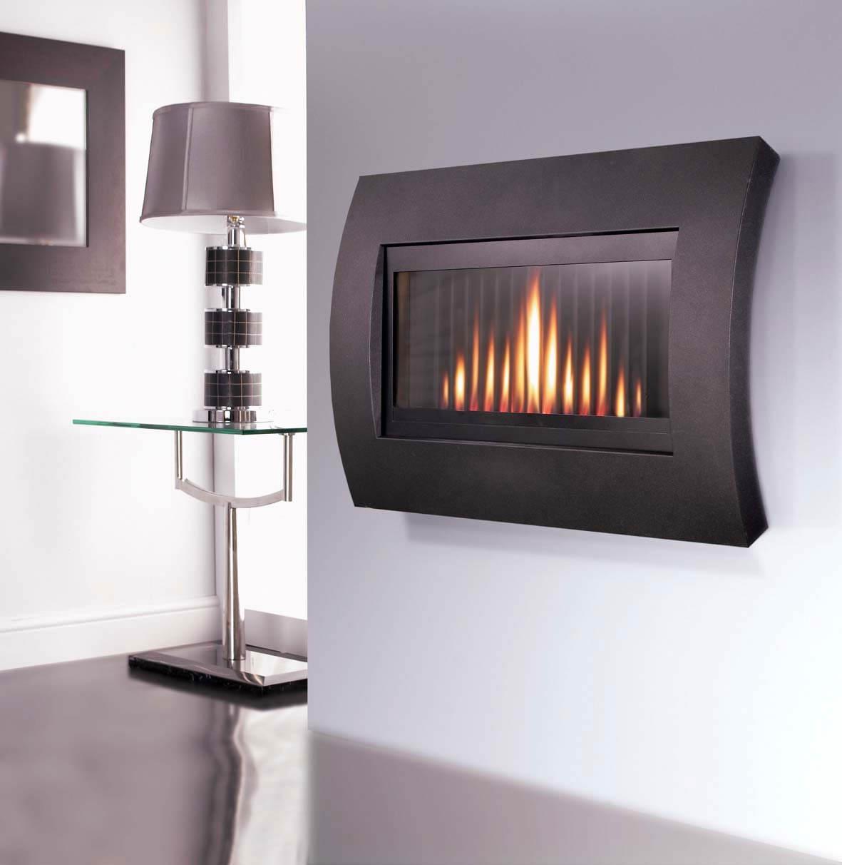 Flavel Curve Hole In The Wall Gas Fire Remote Control