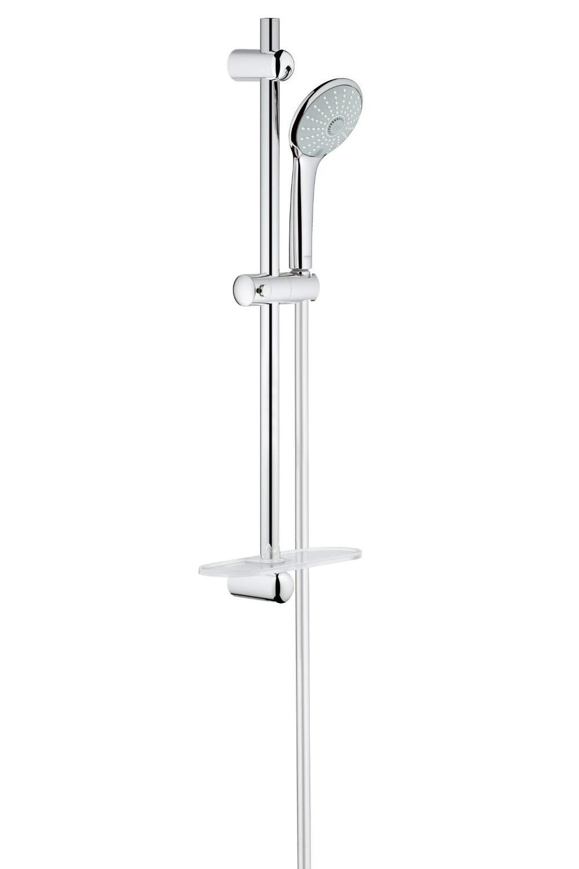 grohe euphoria massage shower set with 600mm rail 27231001. Black Bedroom Furniture Sets. Home Design Ideas