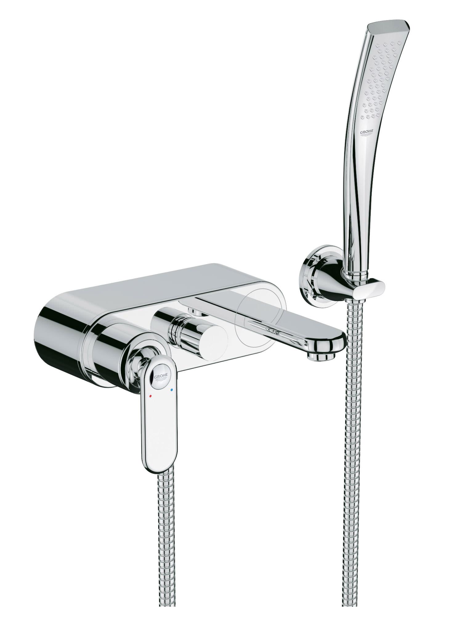 Grohe Spa Veris Wall Mounted Single Lever Bath Shower