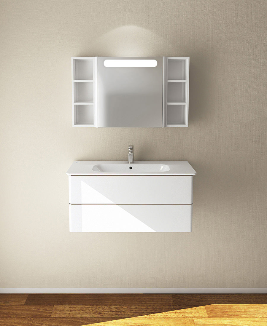 ideal standard softmood 84cm vanity basin white t055801