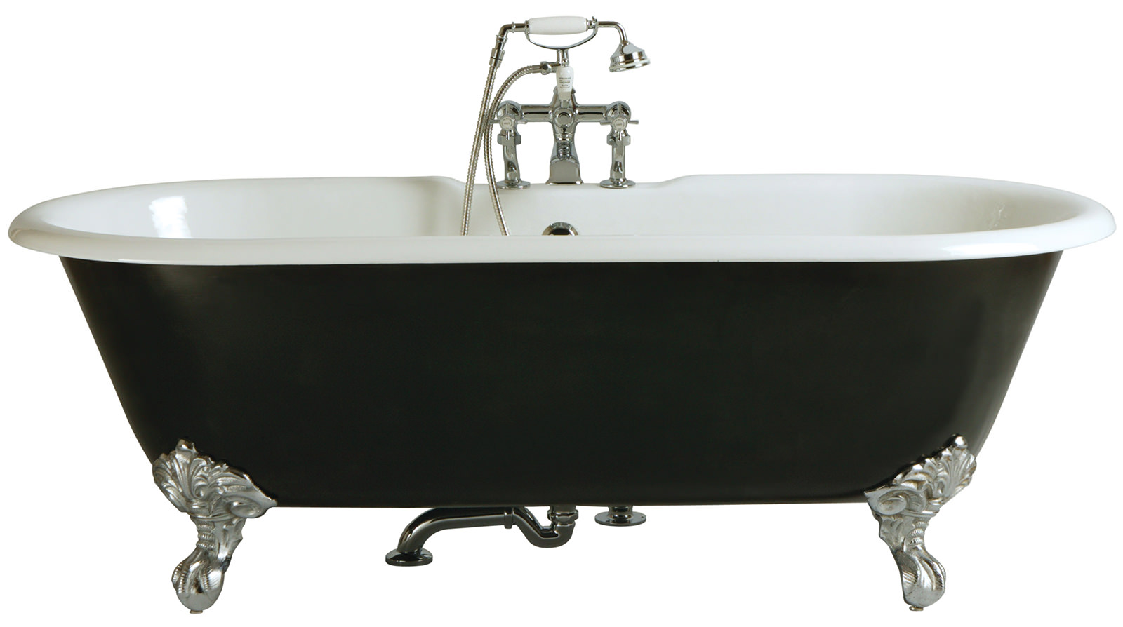 Traditional Roll Top Bath: Heritage Buckingham Roll Top Bath With Feet