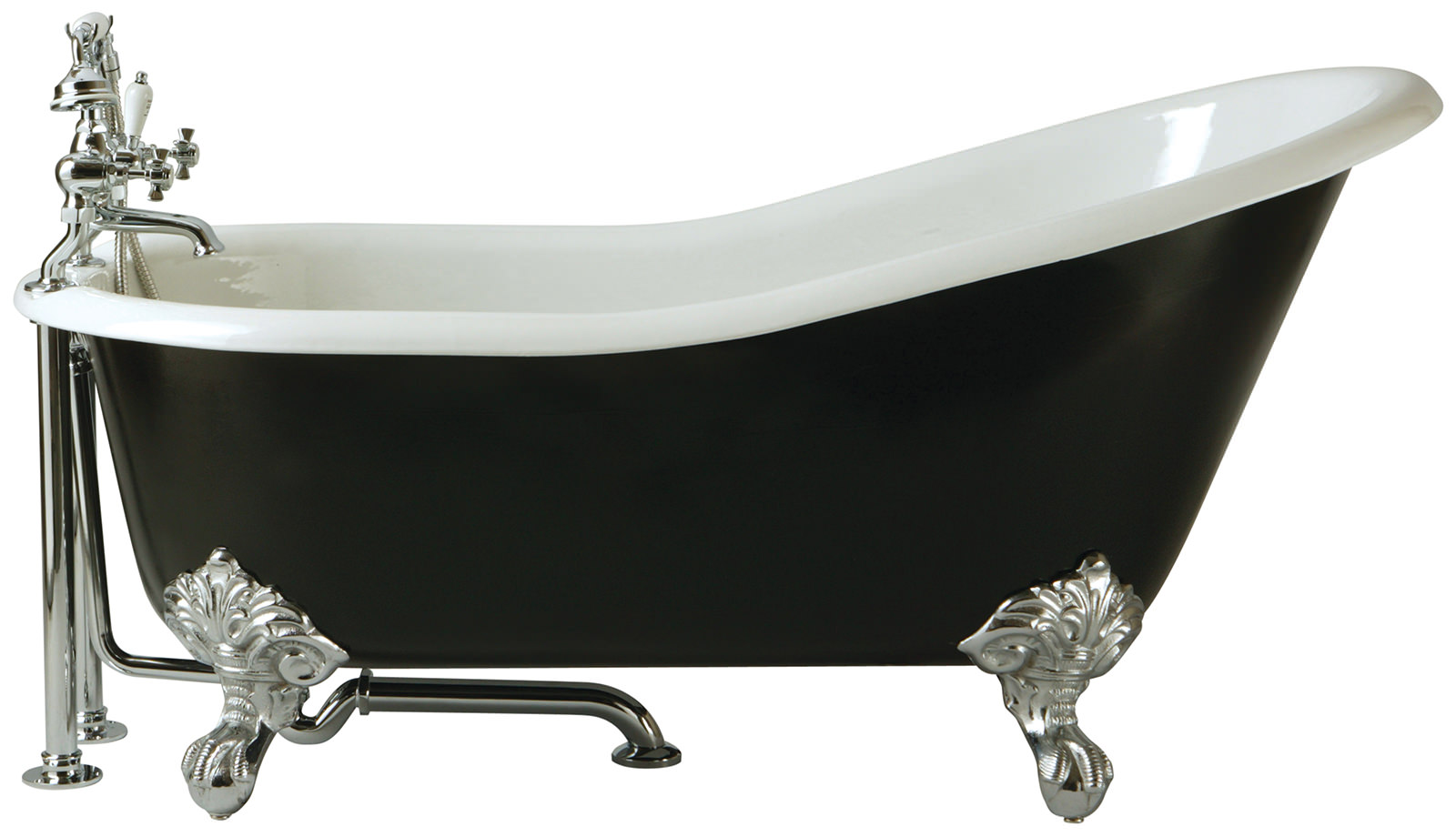 Heritage Kent Slipper Cast Iron Freestanding Bath With Feet