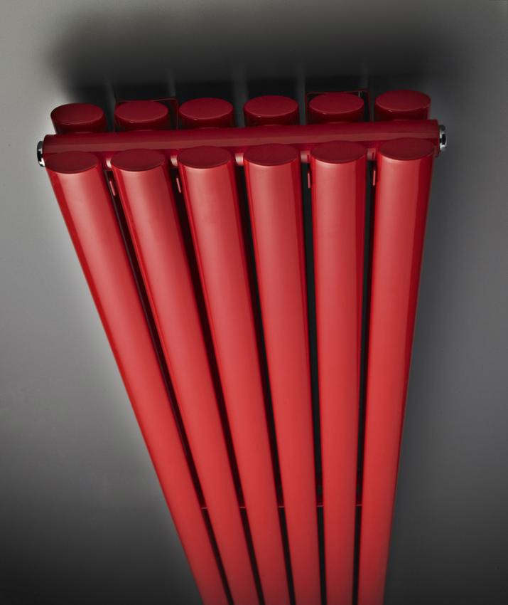 Hudson Reed Revive 354 X 1800mm Red Double Panel Vertical