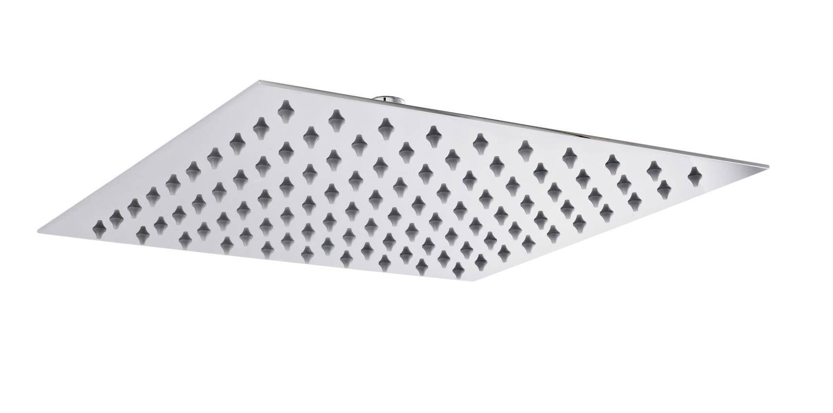 hudson reed square thin fixed shower head head58