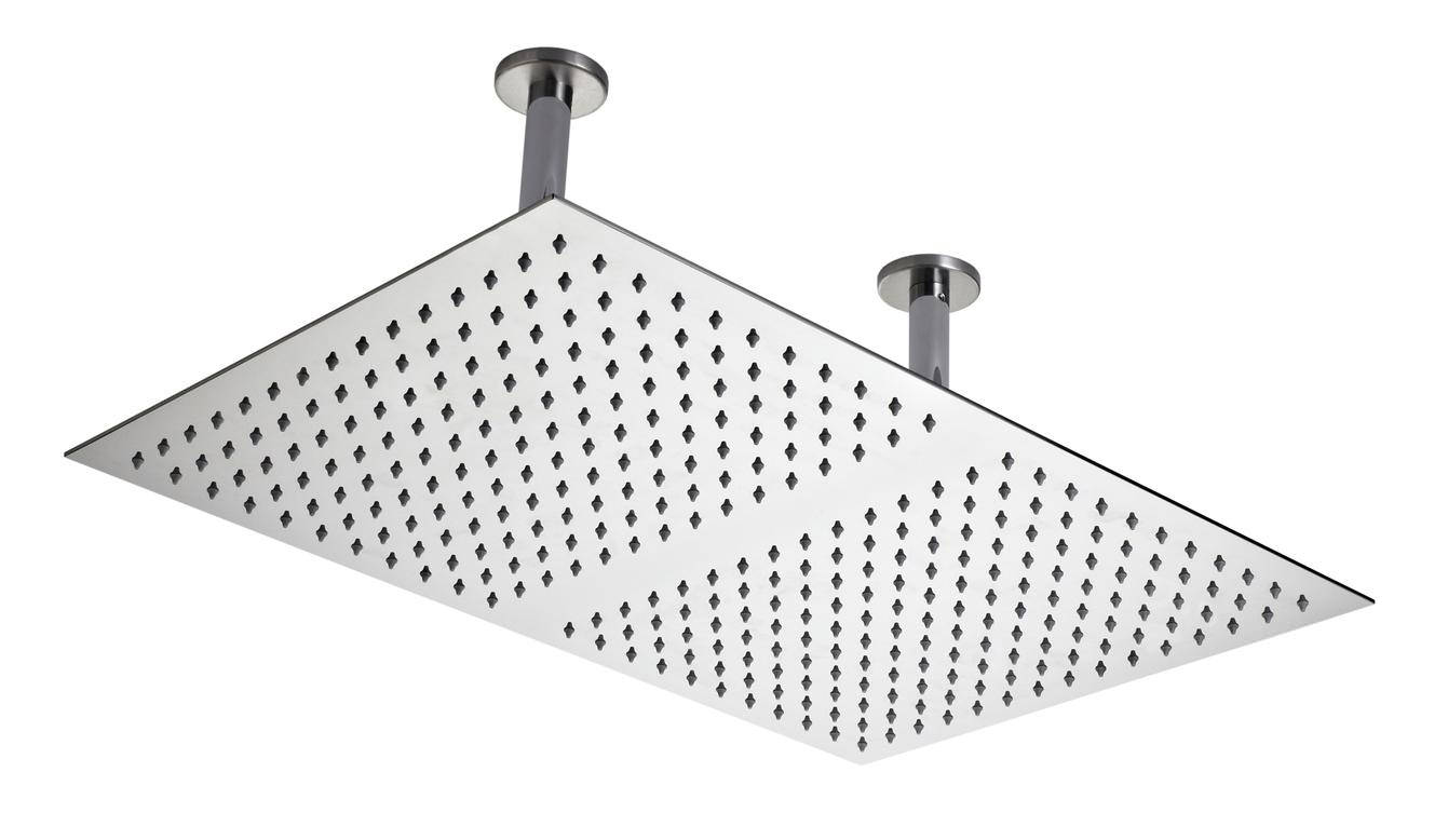 Reed 600 x 400mm Ceiling Mounted Shower Head - HEAD66