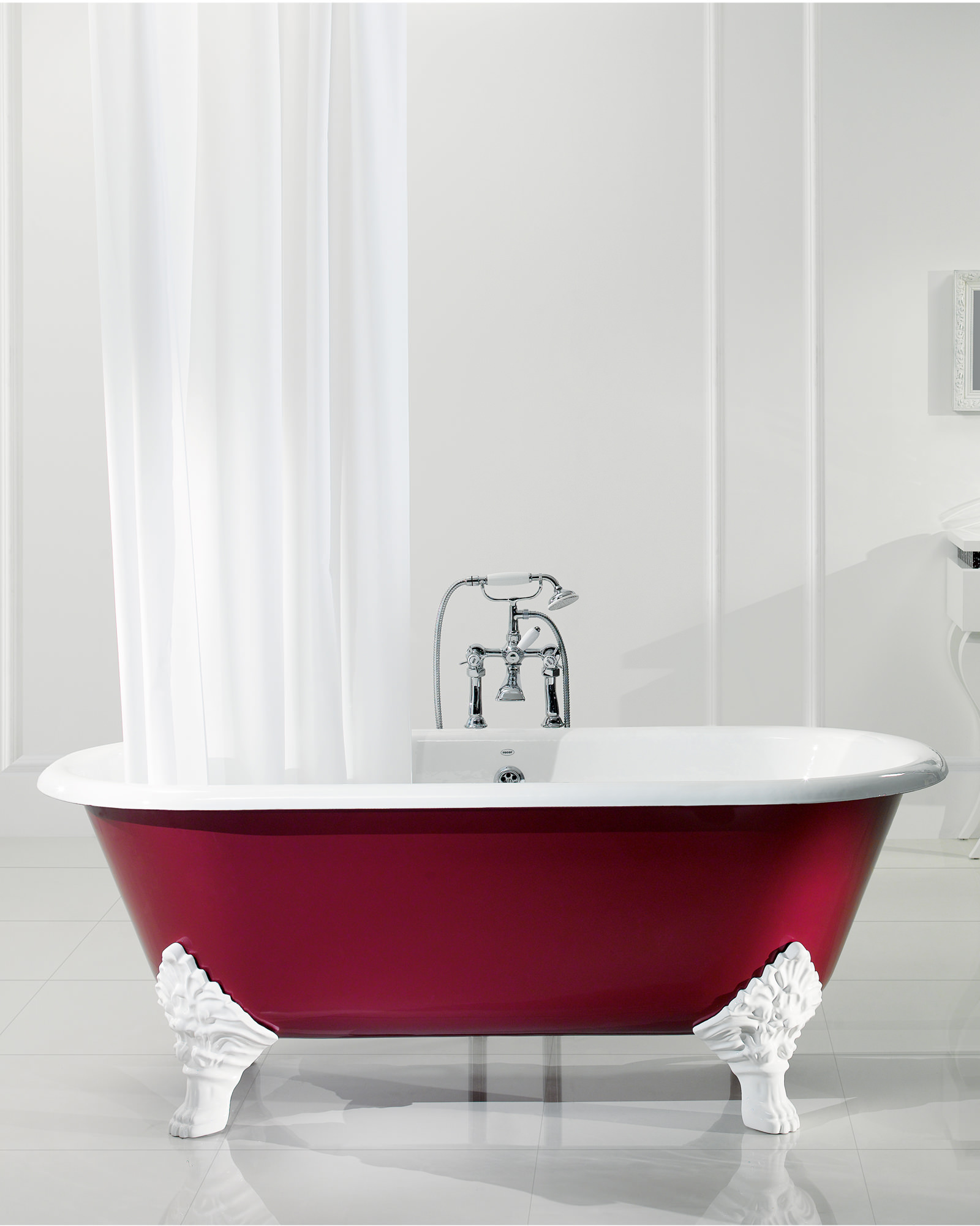 Silverdale Mark Anthony Roll Top Bath 1780 X 800mm With Primed Feet