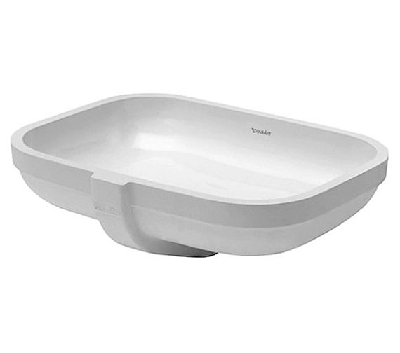 duravit happy d2 480 x 345mm undercounter basin 0457480000. Black Bedroom Furniture Sets. Home Design Ideas