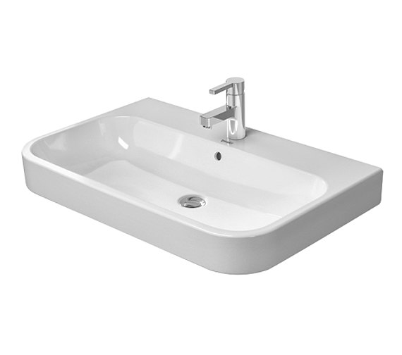 Duravit happy d2 650 x 505mm furniture washbasin 2318650000 for Duravit sanitari