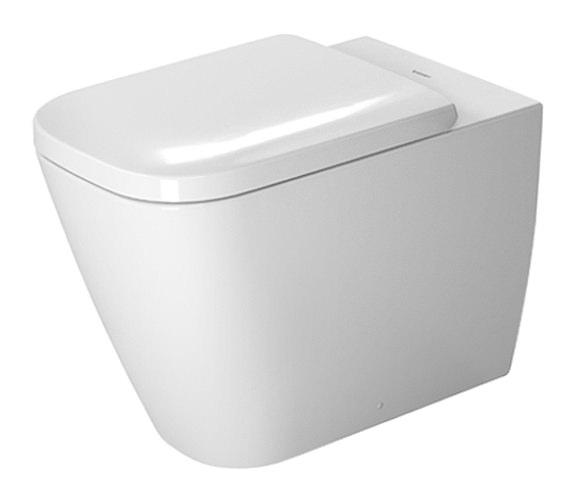 duravit happy d2 floor standing toilet 365 x 570mm. Black Bedroom Furniture Sets. Home Design Ideas