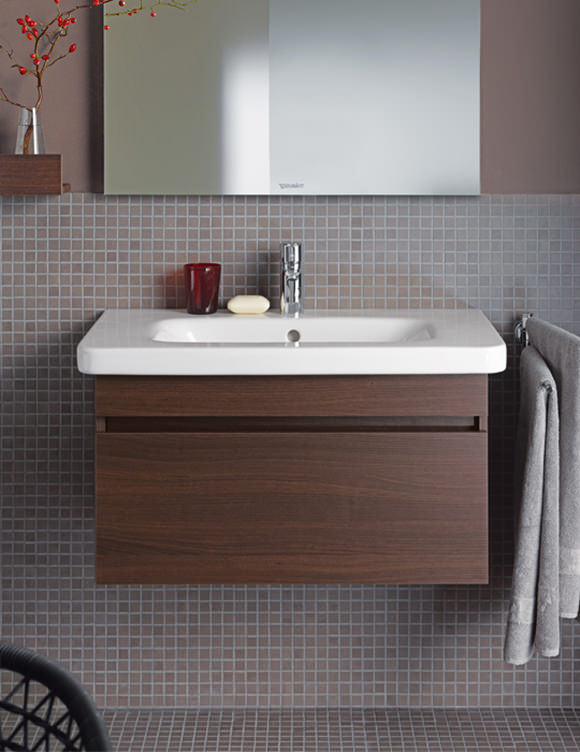 Duravit Durastyle 580mm Wall Mounted Vanity Unit With Basin Ds6380