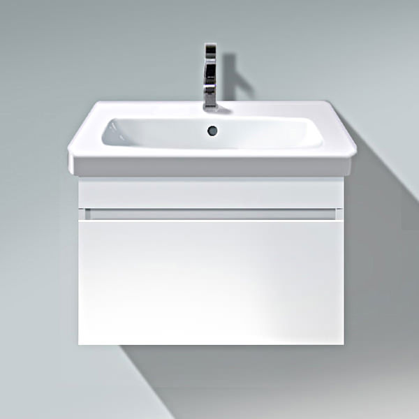 Duravit Wall Hung Basin : Duravit DuraStyle 600mm Wall Mounted Vanity Unit With Basin - DS6383
