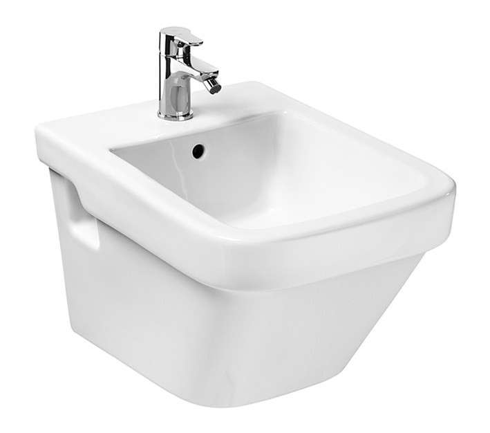 Roca dama n compact wall hung bidet 520mm 357786000 for Roca dama toilet