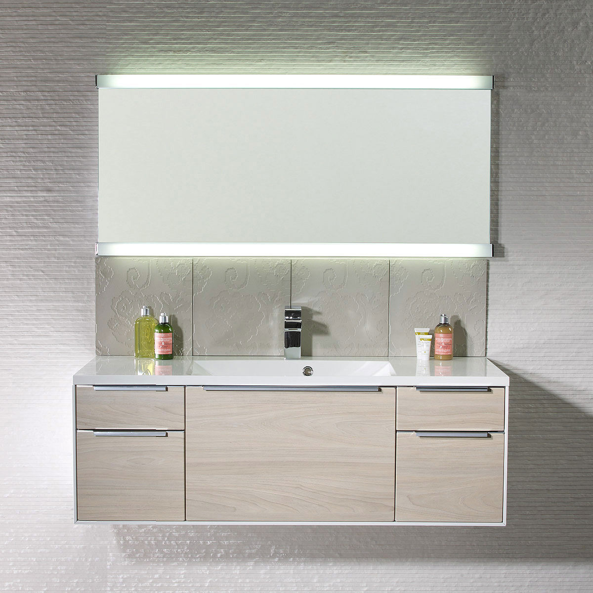 Illuminated Mirrors Bathroom: Roper Rhodes Transcend Fluorescent Illuminated Mirror