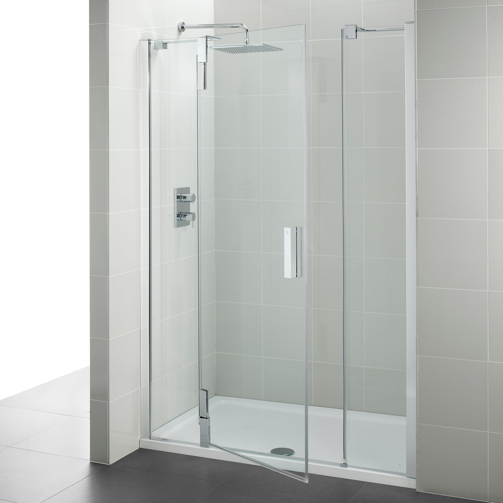 Ideal Standard Tonic Upstand Alcove Hinged Door 1200mm