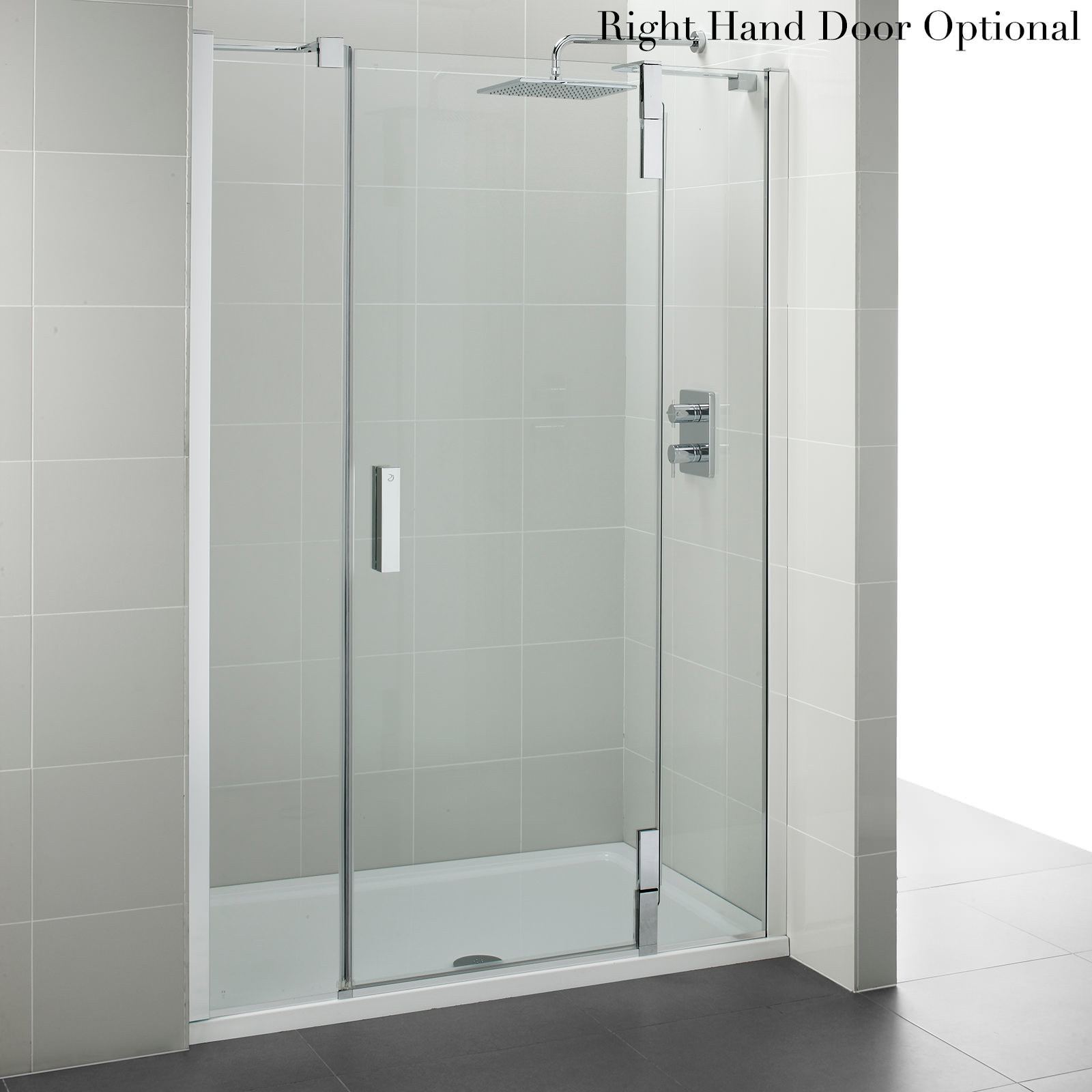 Beta Heat Electric 1150 X 600mm Curved Chrome Heated Towel: Ideal Standard Tonic Upstand Alcove Hinged Door 1200mm