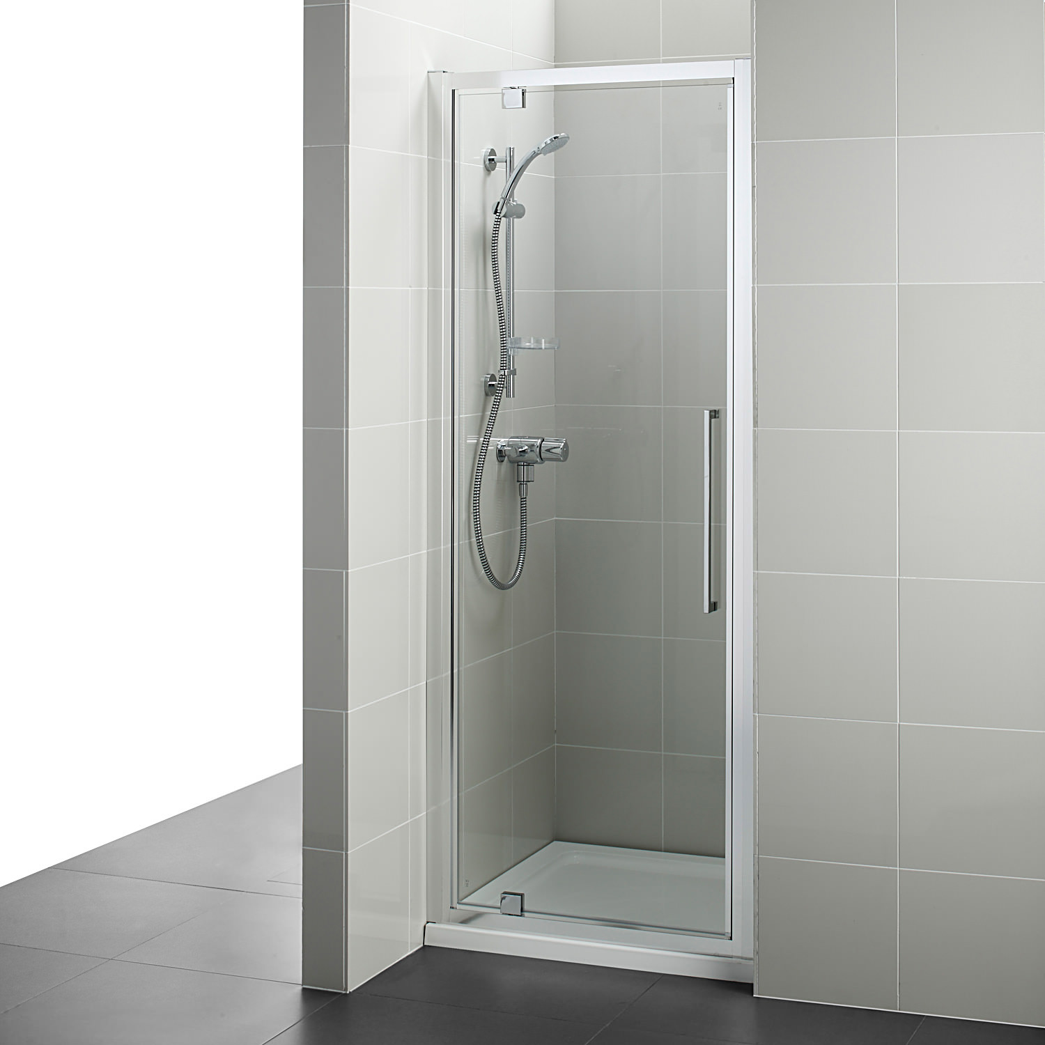 Ideal Standard Kubo 900mm Pivot Shower Door T7374eo