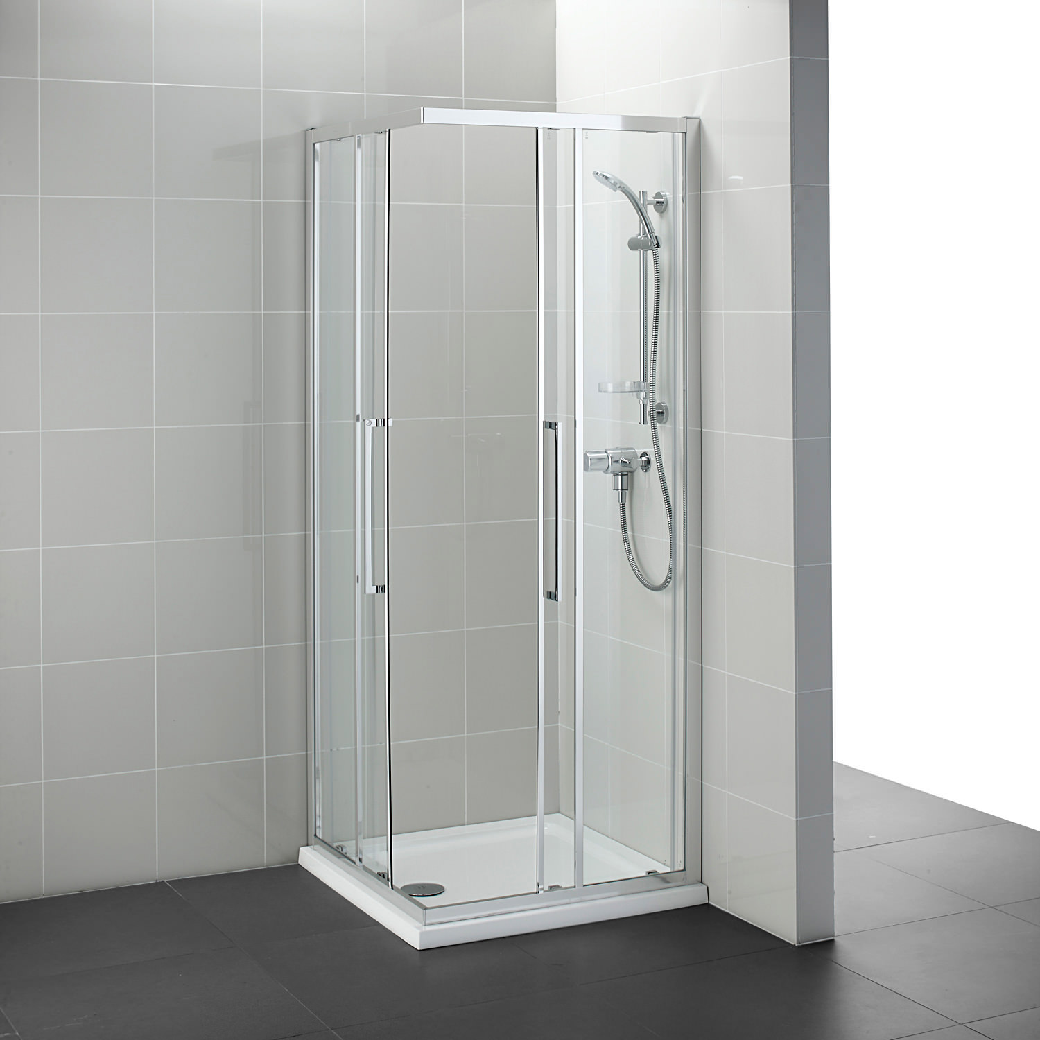 Ideal Standard Kubo 760mm Corner Entry Shower Enclosure