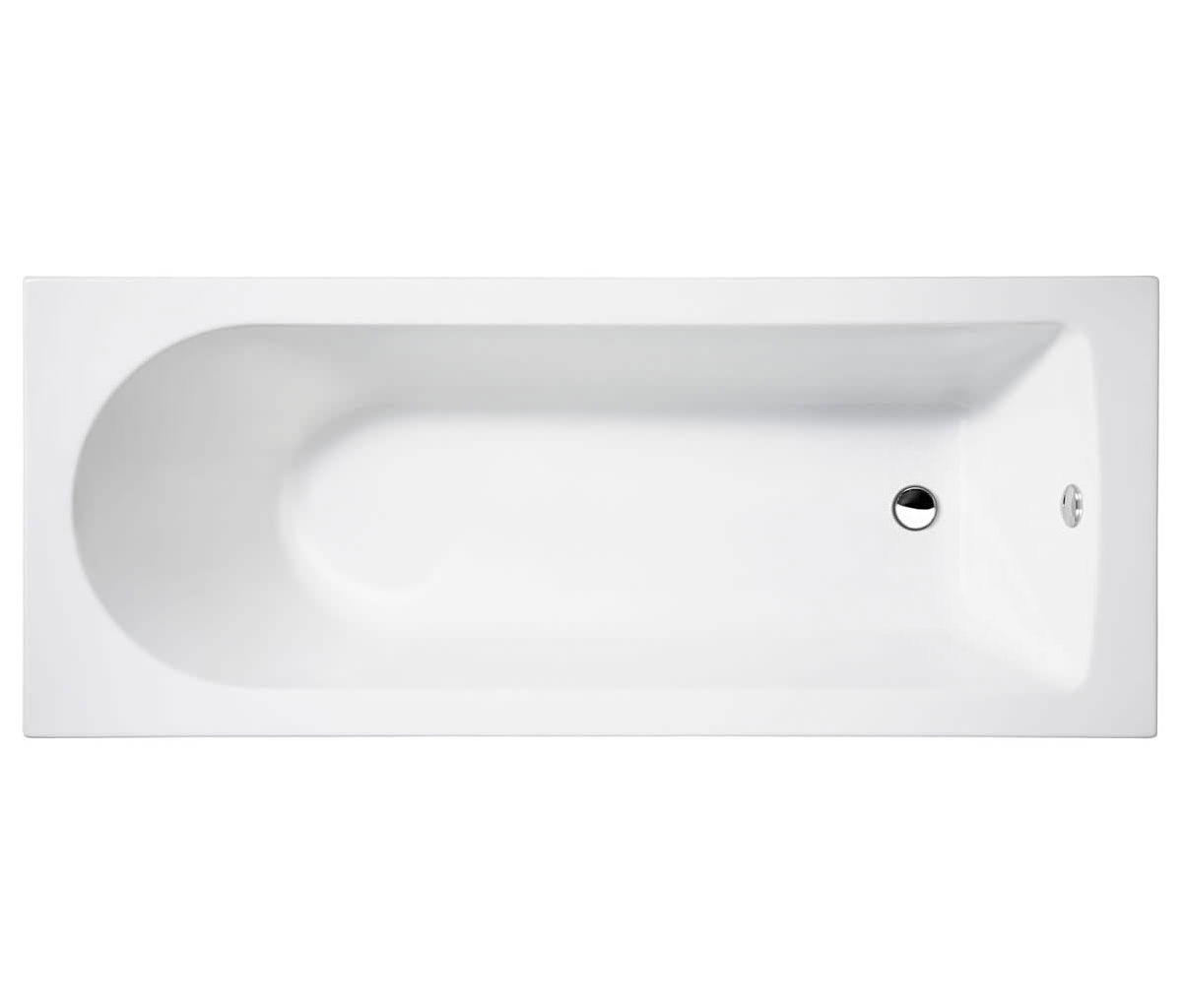 Cleargreen Reuse Rectangular Single Ended Bath 1600 X