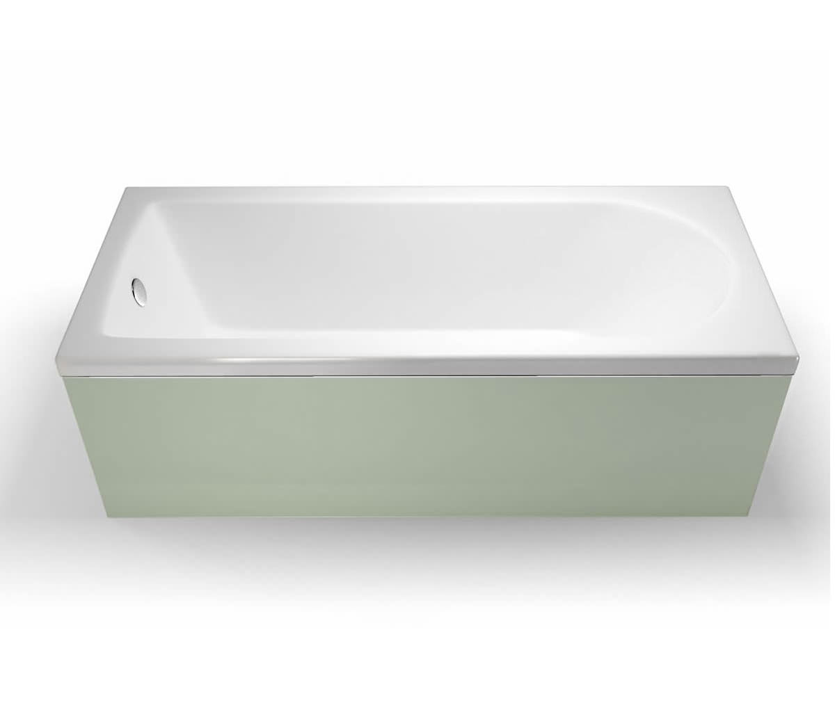 Cleargreen Reuse Rectangular Single Ended Bath 1500 x 700mm Round