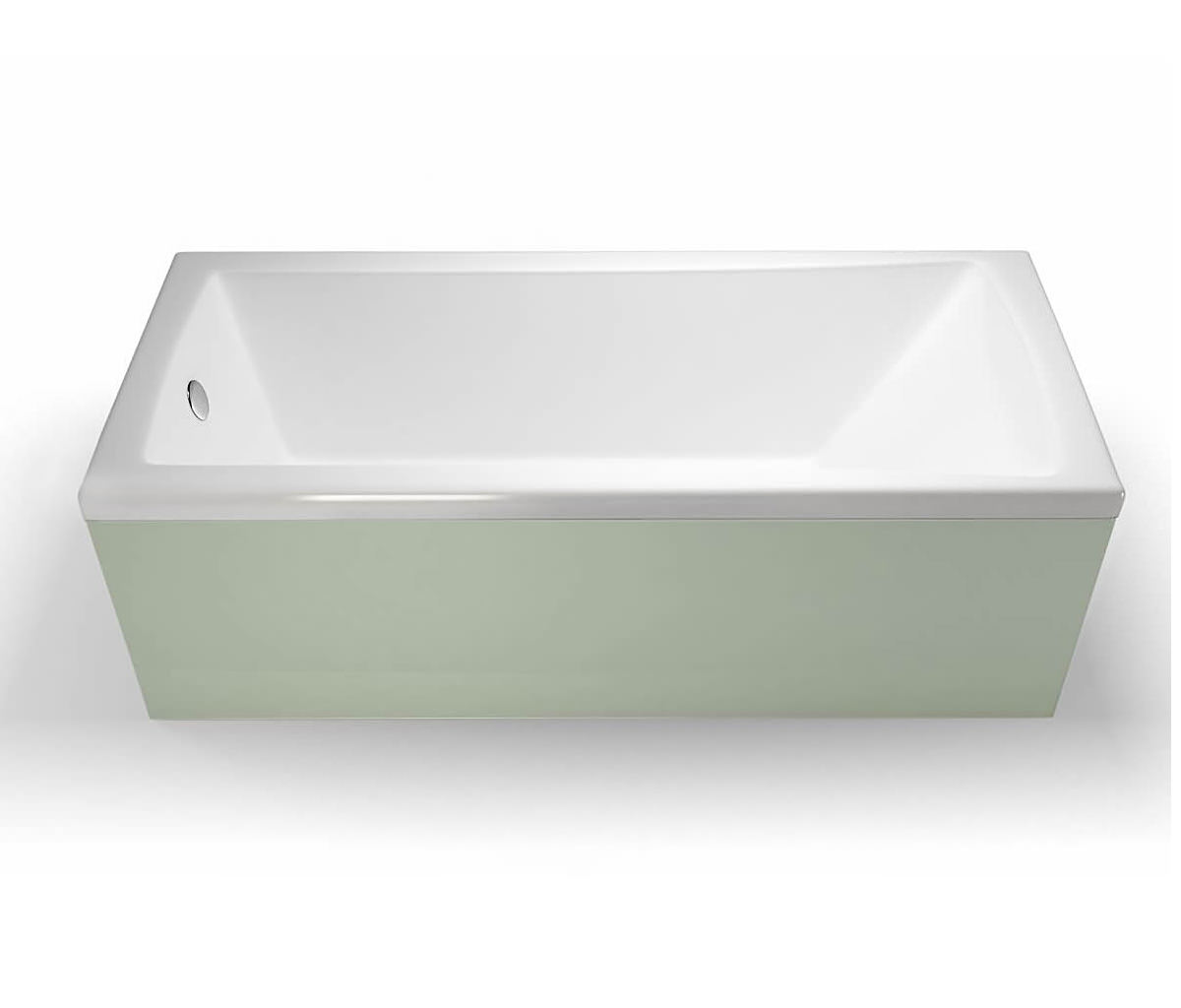 Cleargreen Sustain Rectangular Single Ended Bath 1600 X