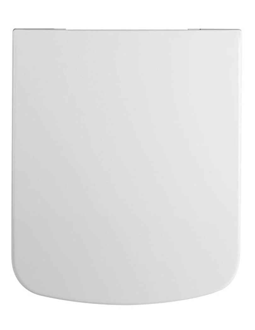 Lauren Square Top Fix Soft Close WC Seat 355 X 460mm NCU799