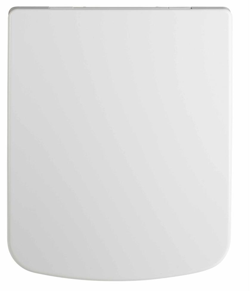 Lauren Square Top Fix Soft Close Toilet Seat 360 X 432mm