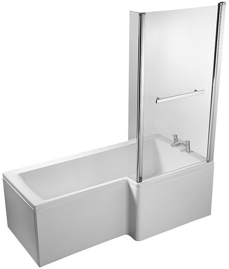Ideal Standard Concept Idealform Square 1500mm RH Shower Bath