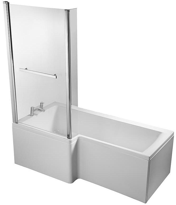 Concept Shower Bath ideal standard concept idealform 1700 x 850mm left hand shower bath