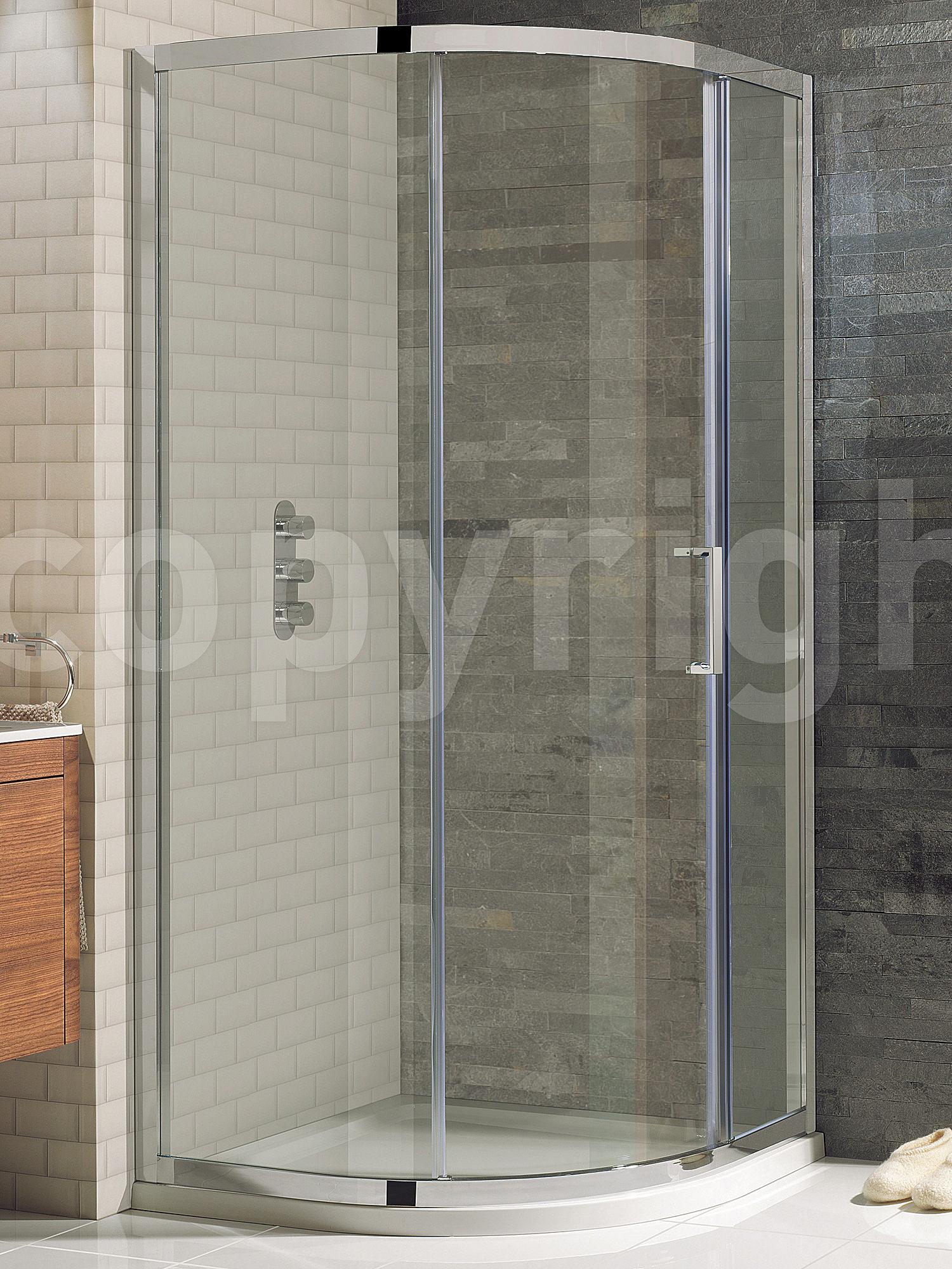 Simpsons Elite Framed Single Door Quadrant Enclosure 900 x 900mm