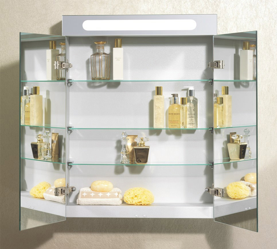 Bauhaus aluminium 600 x 800mm double door mirrored cabinet for Kitchen cabinets 800mm