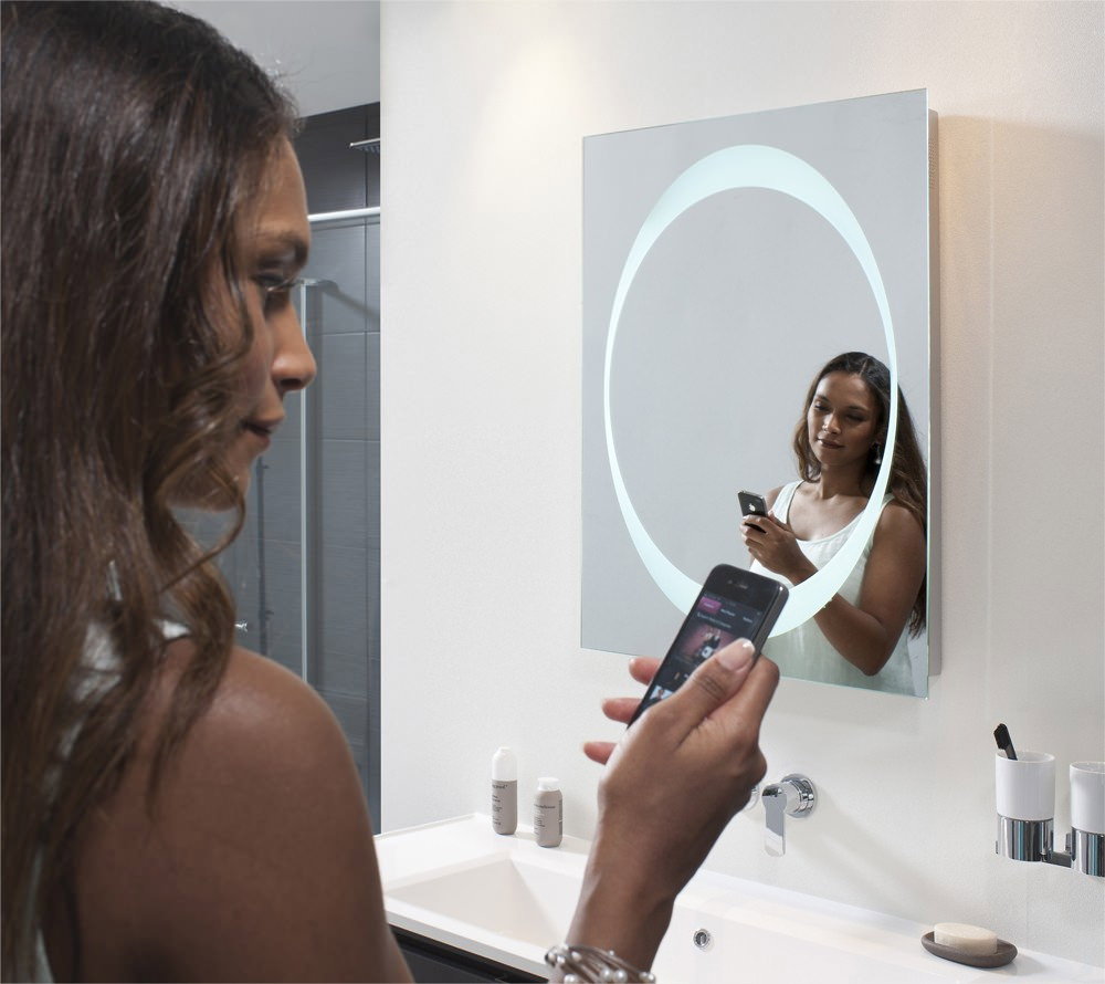 Bauhaus Revive 1 0 Bluetooth Led Mirror 600 X 800mm Meb8060a