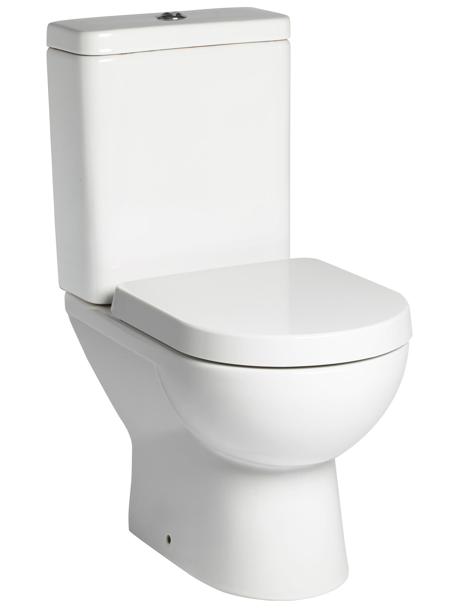 Tavistock Ion Close Coupled 600mm Wc With Cistern And Toilet Seat P100s C150s