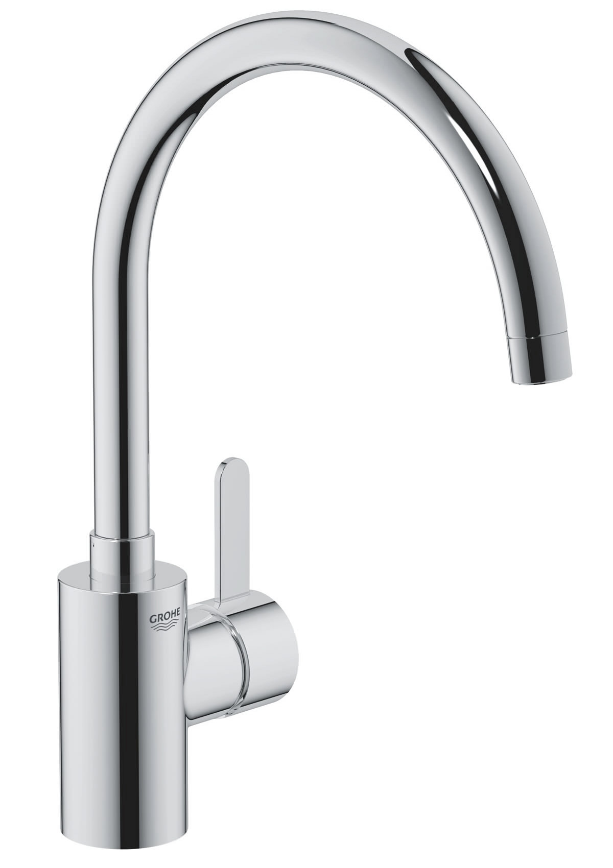 grohe eurosmart cosmopolitan high spout sink mixer tap 32. Black Bedroom Furniture Sets. Home Design Ideas