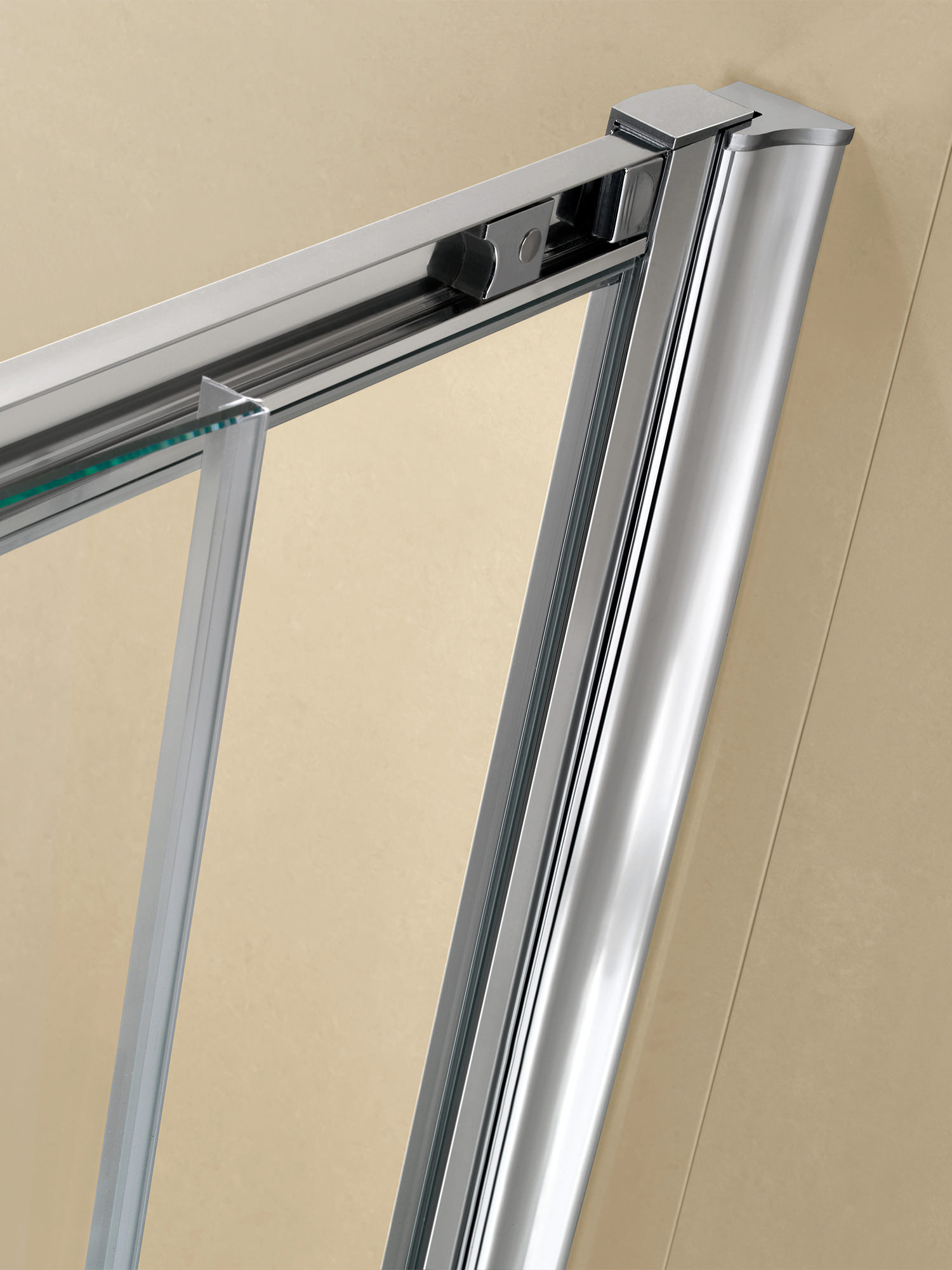 Twyford Es200 Sliding Shower Enclosure Door 1200mm Es28500cp