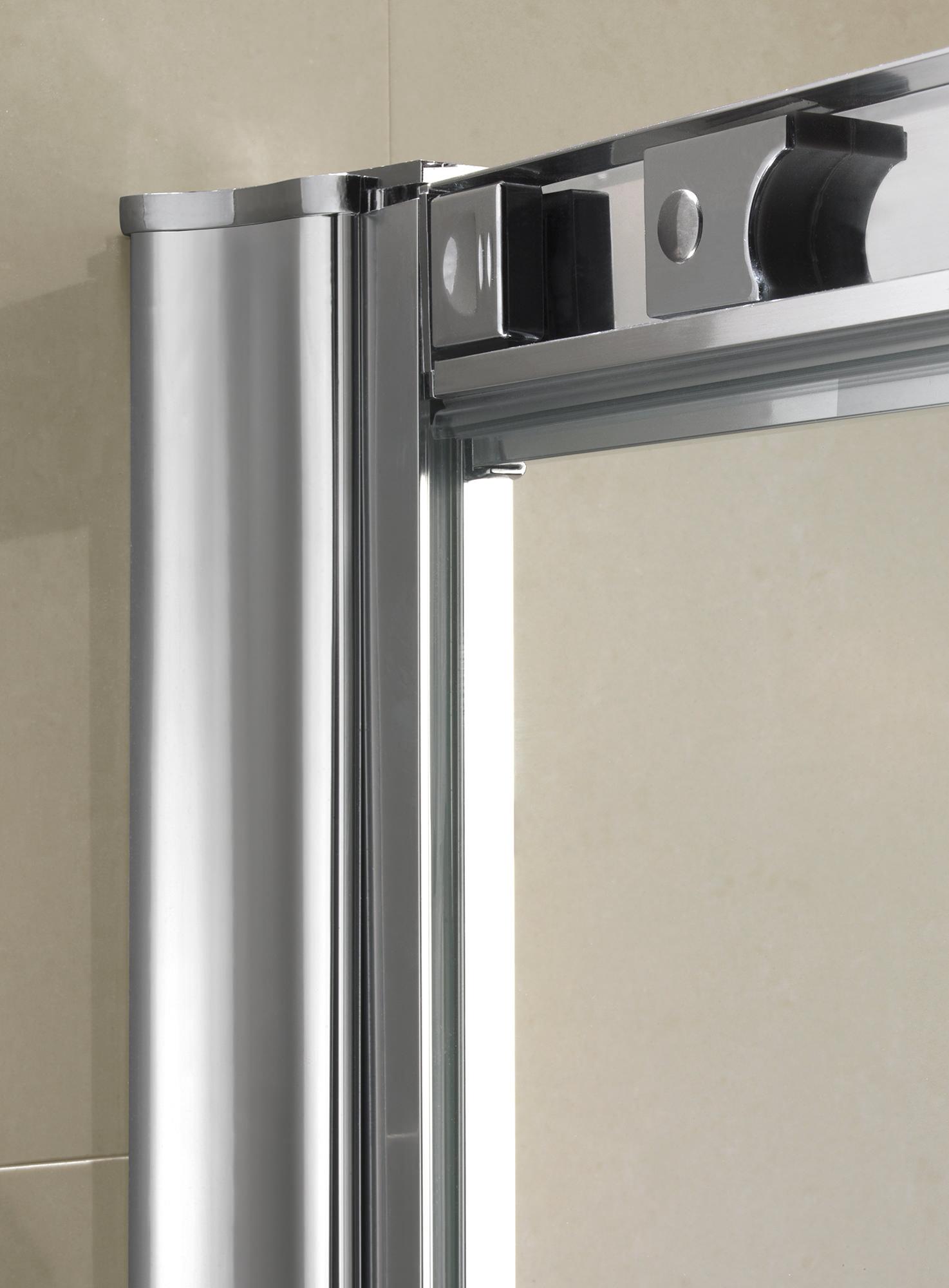 Twyford Es200 Sliding Shower Enclosure Door 1400mm Es29500cp