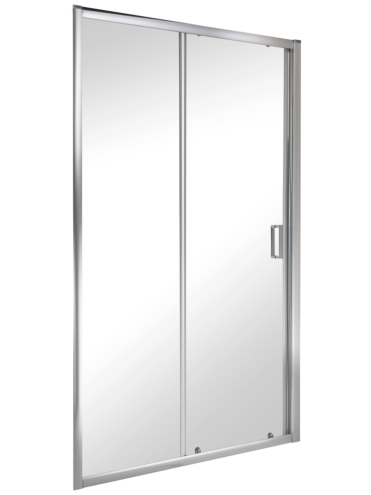 Twyford es200 sliding shower enclosure door 1200mm es28500cp for 1200mm shower door sliding