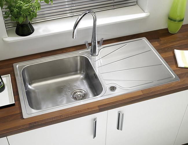 Twin Kitchen Sink : ... image of Astracast Agena Monobloc Twin Lever Kitchen Sink Mixer Tap