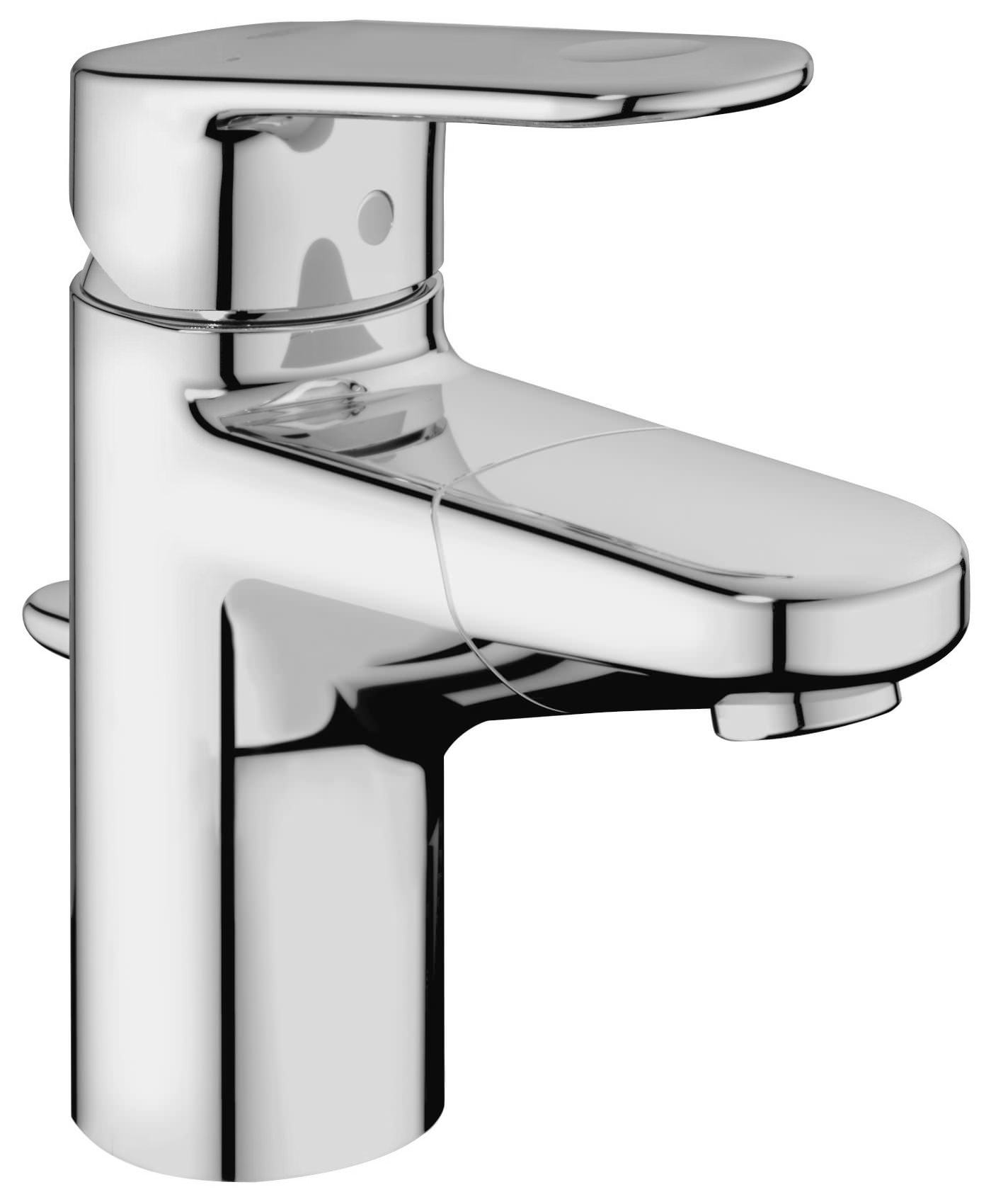 Grohe Europlus Single Lever Basin Mixer Tap With Pull Out Spout 33155002