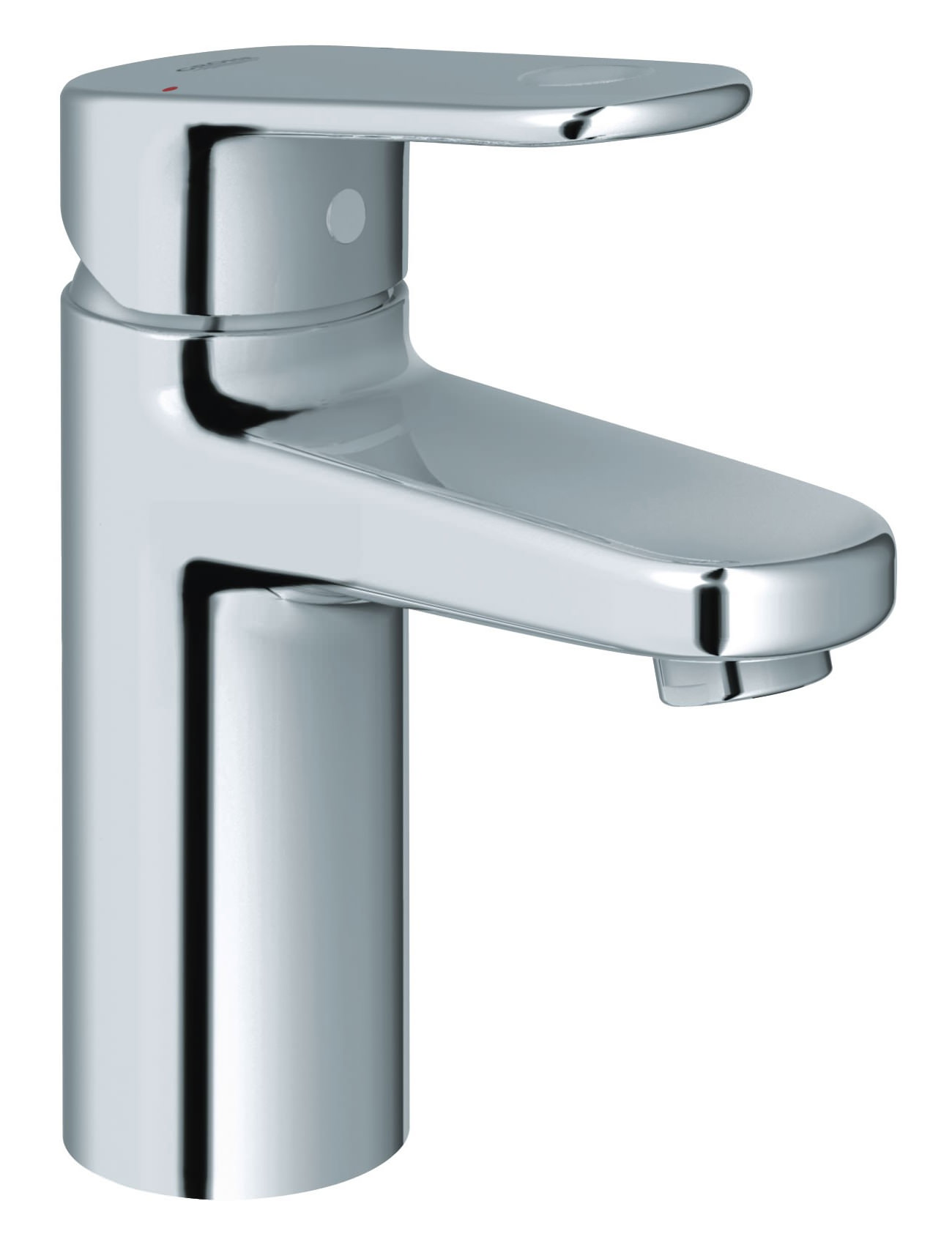 grohe europlus monobloc single lever chrome basin mixer tap. Black Bedroom Furniture Sets. Home Design Ideas