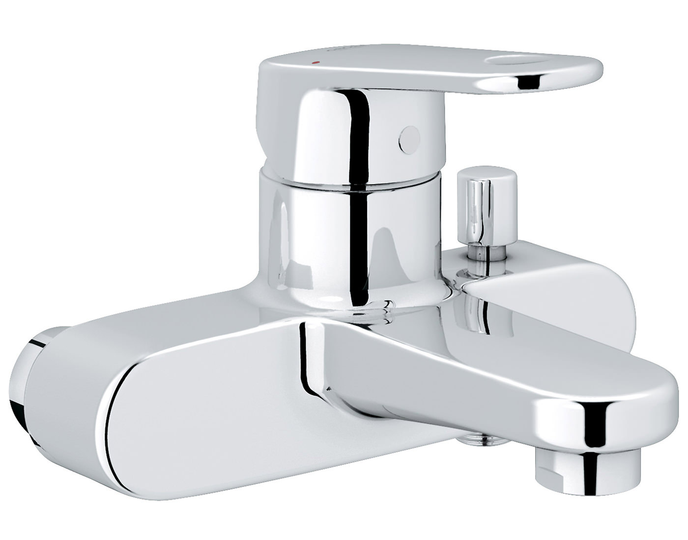 grohe europlus single lever bath shower mixer tap chrome. Black Bedroom Furniture Sets. Home Design Ideas