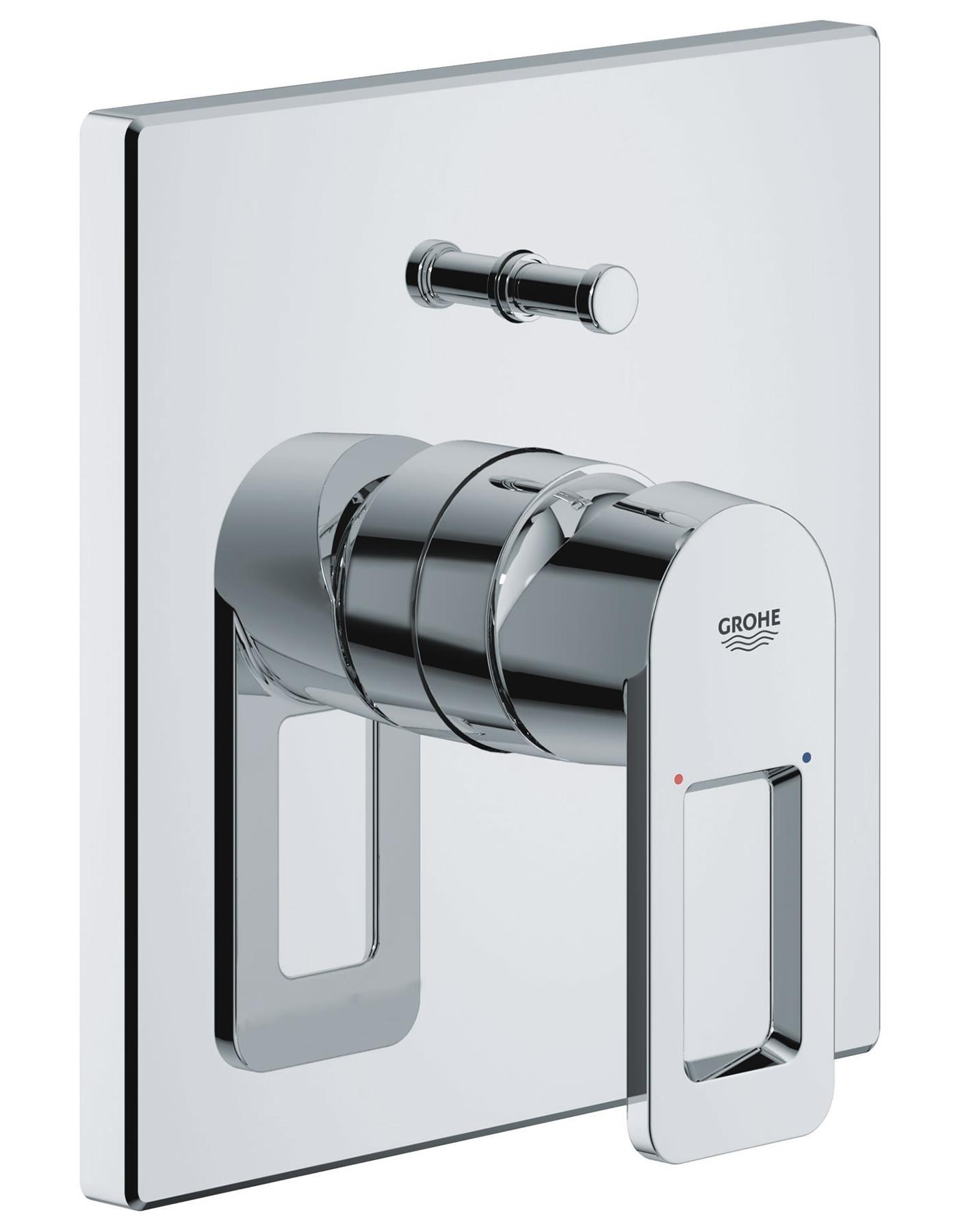 Grohe Quadra Single Lever Bath Shower Mixer Trim And Diverter