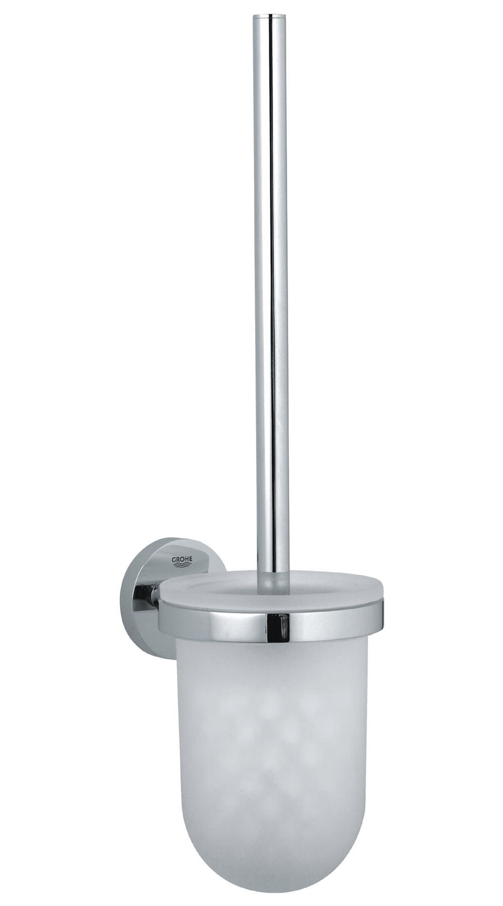 Grohe Essentials Wall Mounted Toilet Brush Set 40374 000