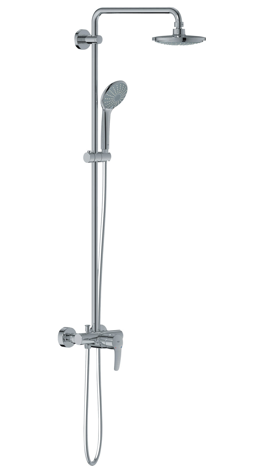 grohe euphoria system 180 shower system with 450mm shower arm. Black Bedroom Furniture Sets. Home Design Ideas
