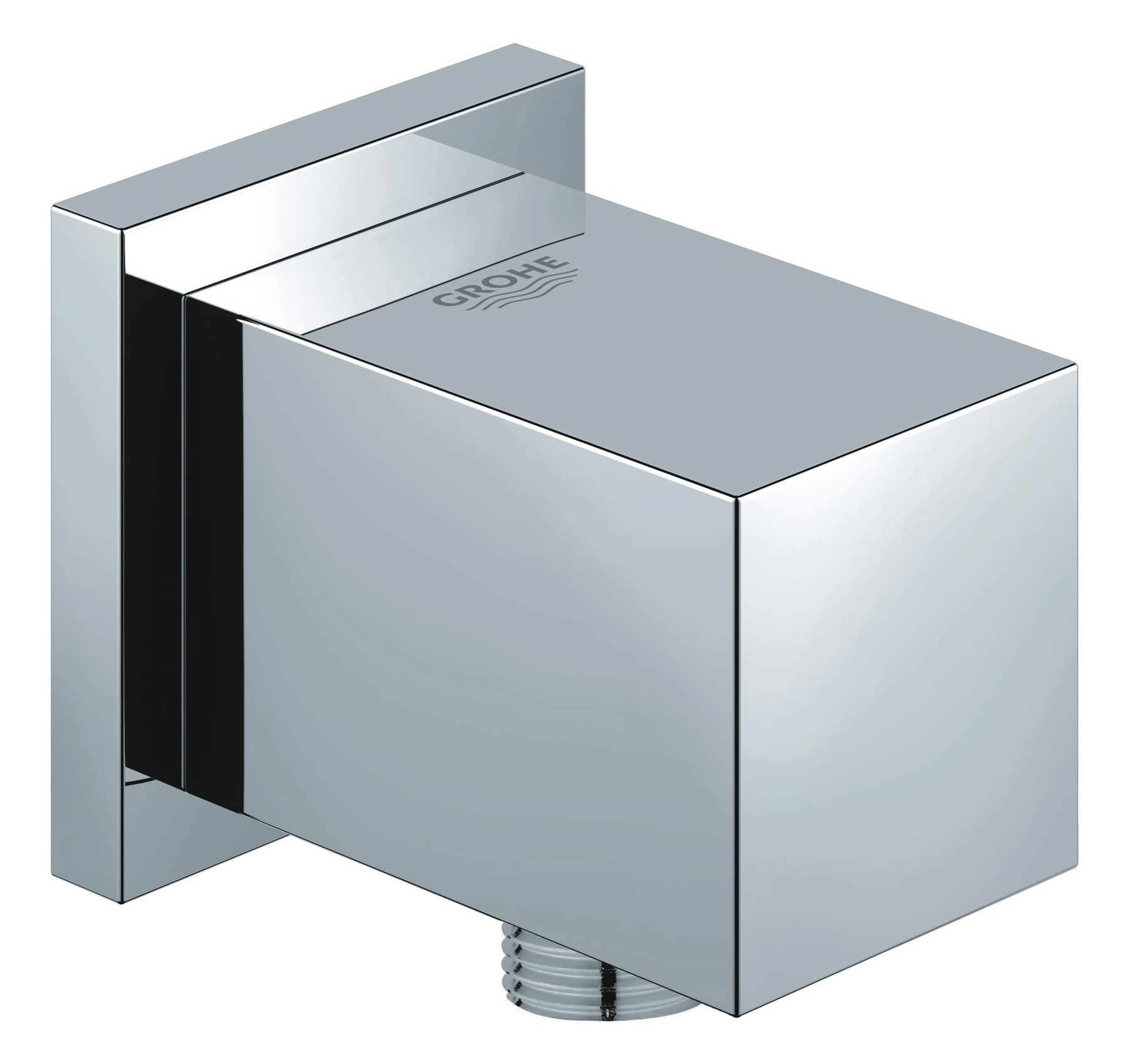grohe euphoria cube chrome shower outlet elbow half inch. Black Bedroom Furniture Sets. Home Design Ideas
