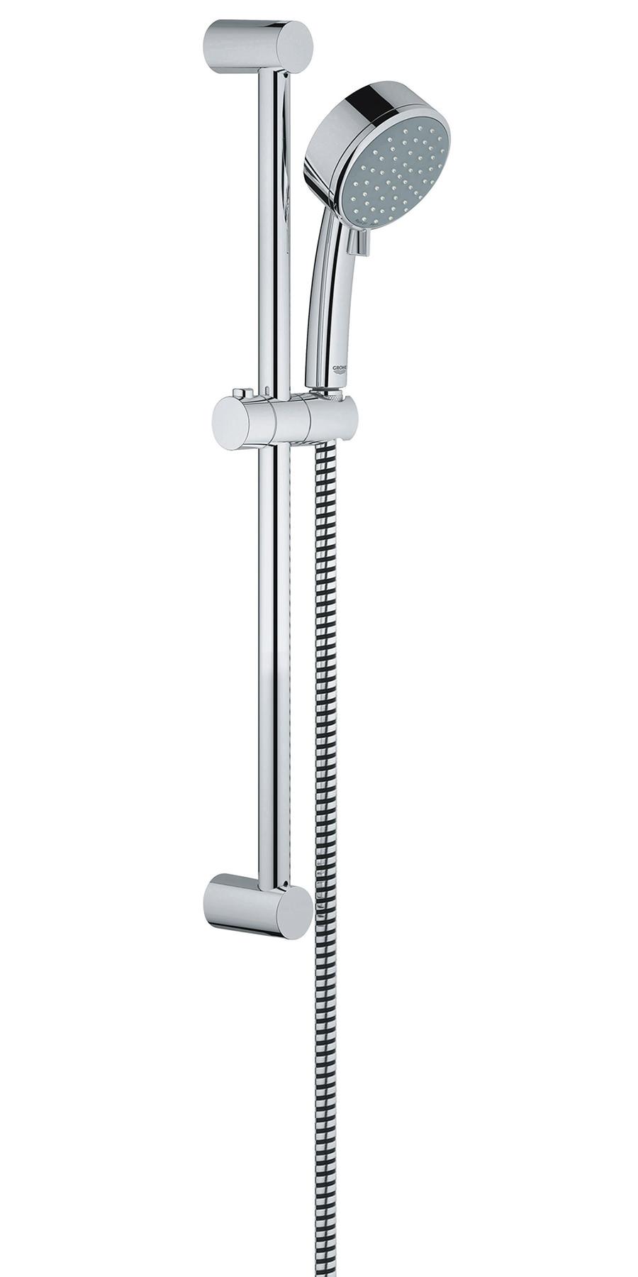 grohe new tempesta cosmopolitan chrome shower set 27578001. Black Bedroom Furniture Sets. Home Design Ideas