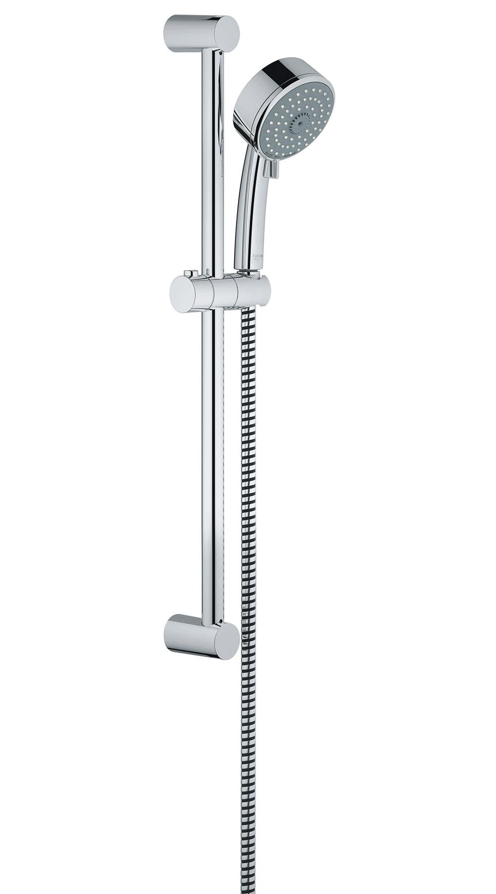 grohe new tempesta cosmopolitan trio slide rail kit 27786001. Black Bedroom Furniture Sets. Home Design Ideas