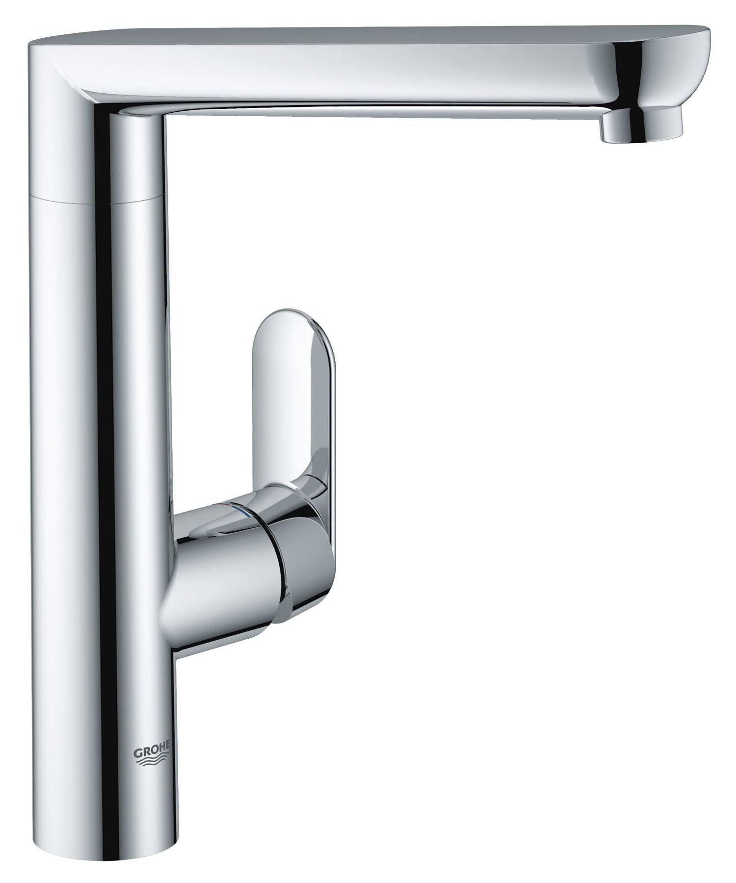 Grohe k7 monobloc chrome kitchen sink mixer tap 32175 000 for Bathroom taps