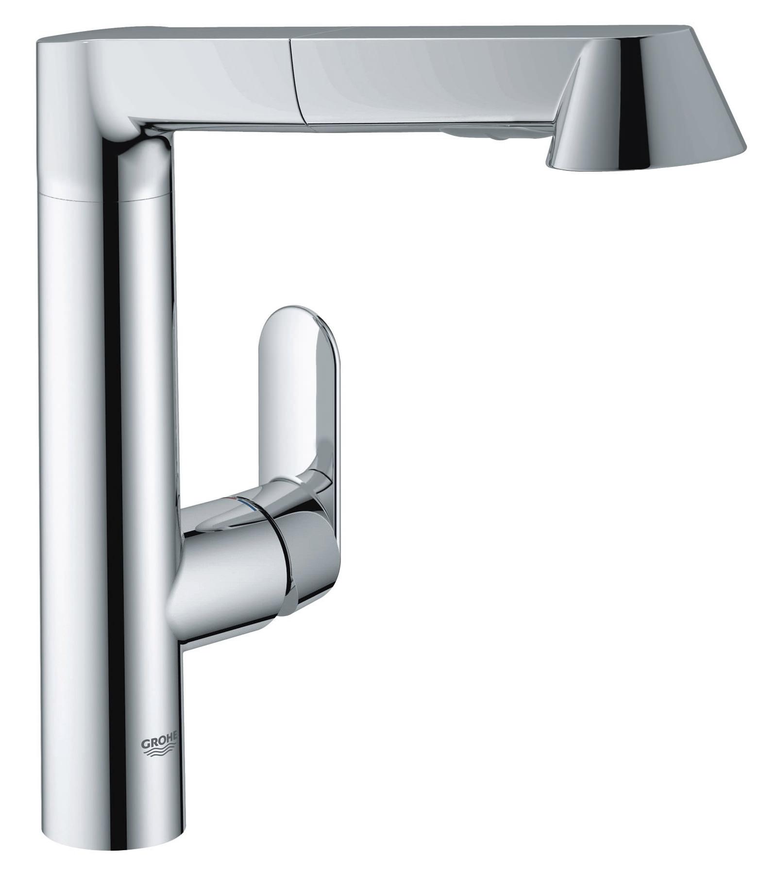 Grohe K7 Monobloc Kitchen Sink Mixer Tap Chrome - 32176 000
