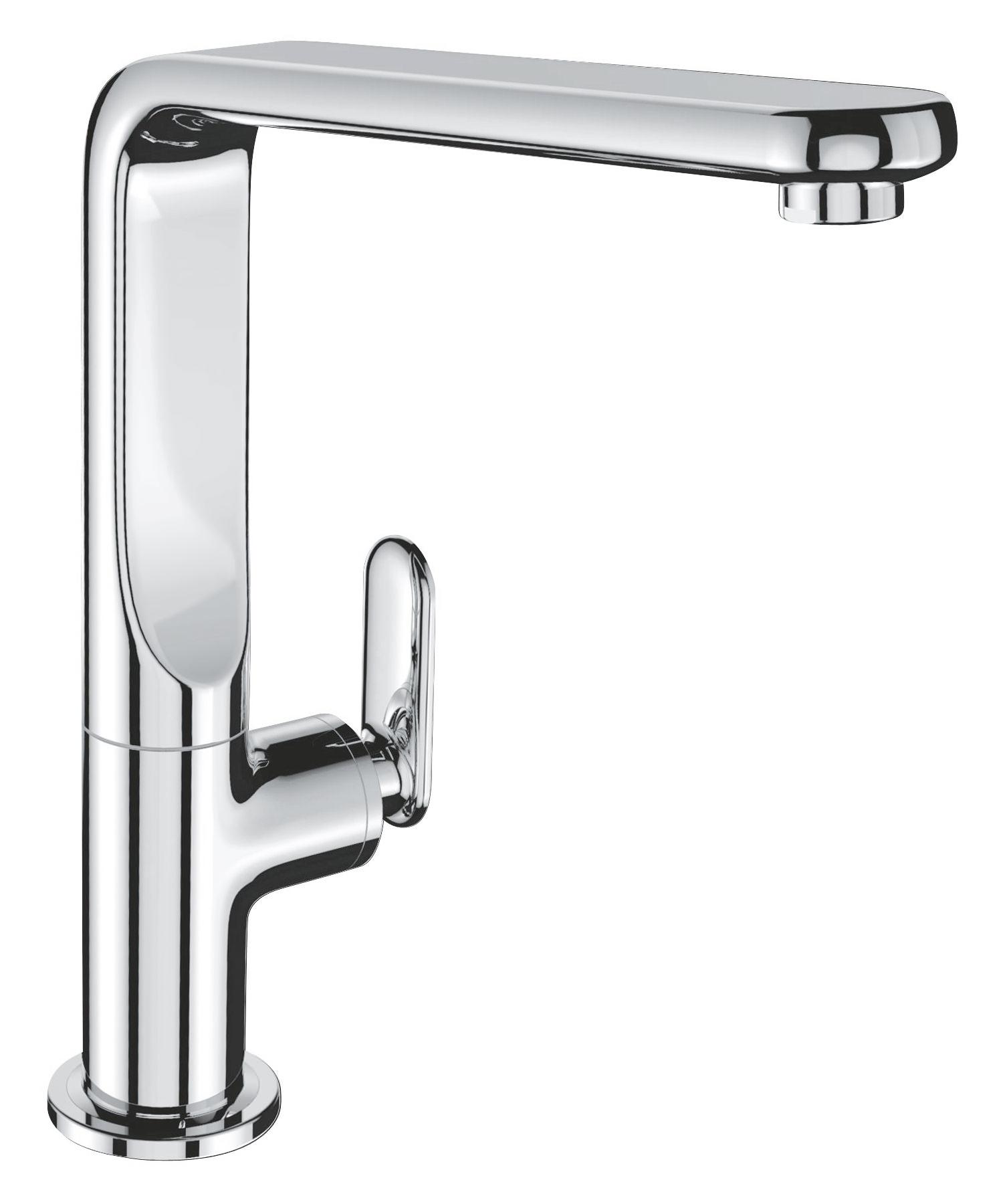 grohe veris monobloc chrome kitchen sink mixer tap 32198 000. Black Bedroom Furniture Sets. Home Design Ideas